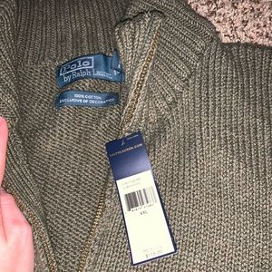 Polo by Ralph Lauren Sweaters - men's polo Ralph Lauren knit quarter zip
